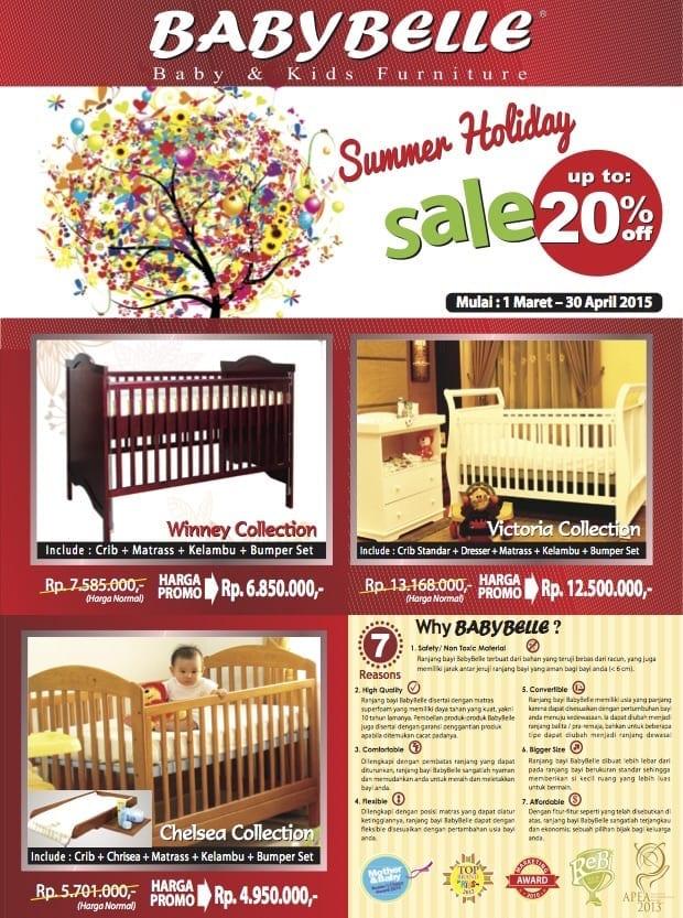 Promosi terbaru dari babybelle ranjang bayi
