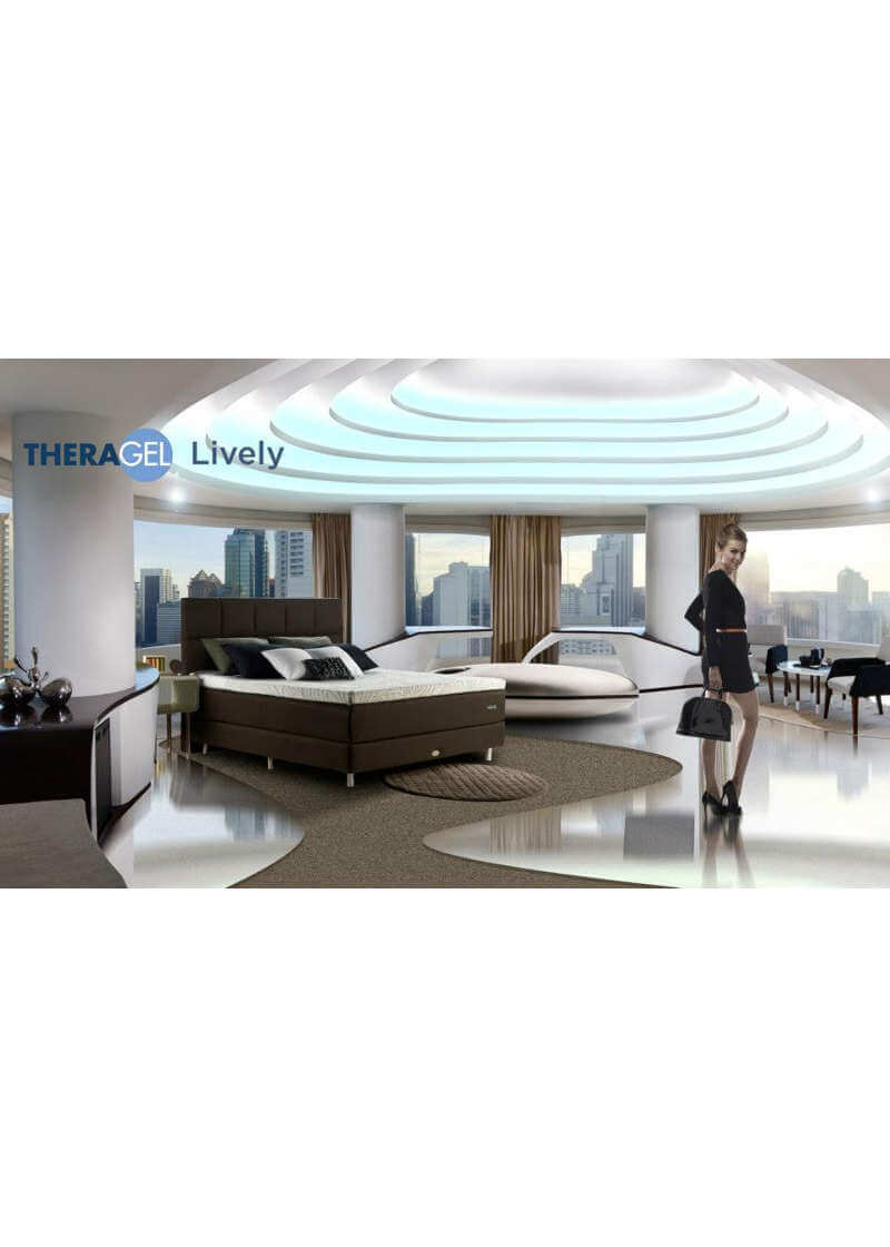 Springbed Therapedic tipe Lively