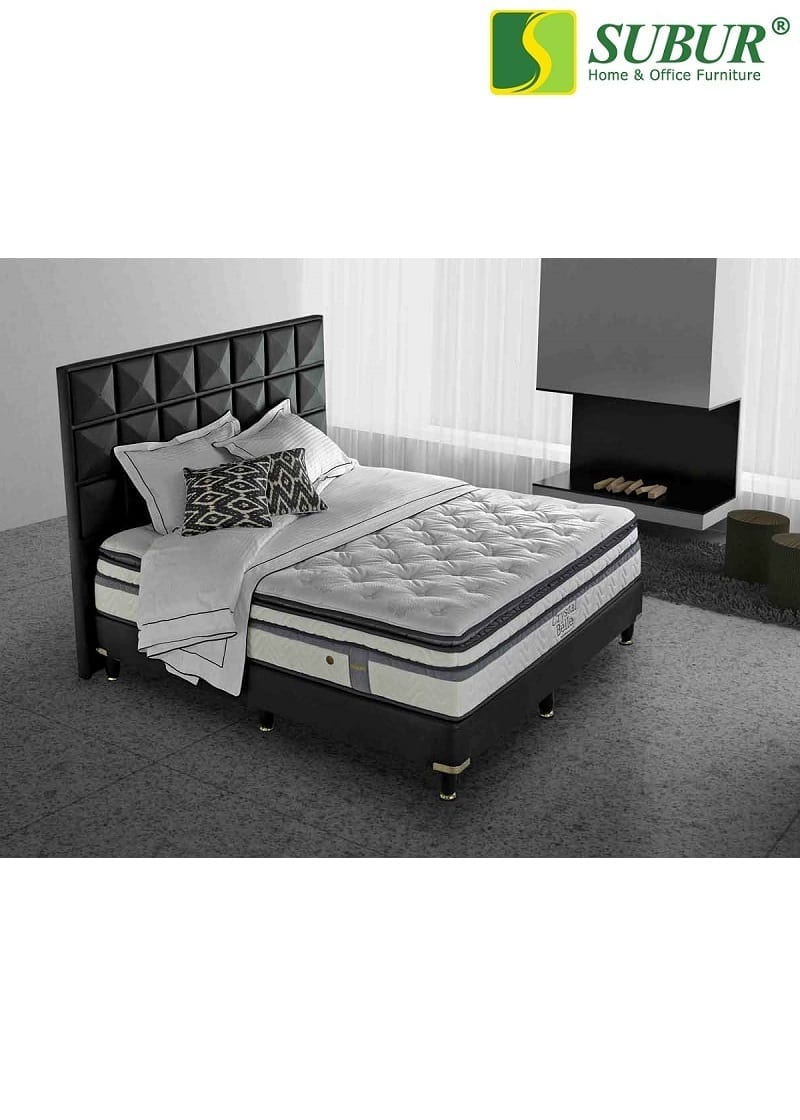 Springbed Simmons Crystal Belle Subur Furniture Online Store Plaza Savello Luxio Mt0 Kursi Kantor Jabodetabek