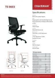 Kursi Manager Chairman type TS 0603