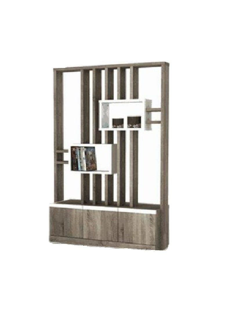 Lemari Melody Mitch Room Divider Sn Oak Dark Wg Subur Furniture Plaza Savello Luxio Mt0 Kursi Kantor Jabodetabek Online Store