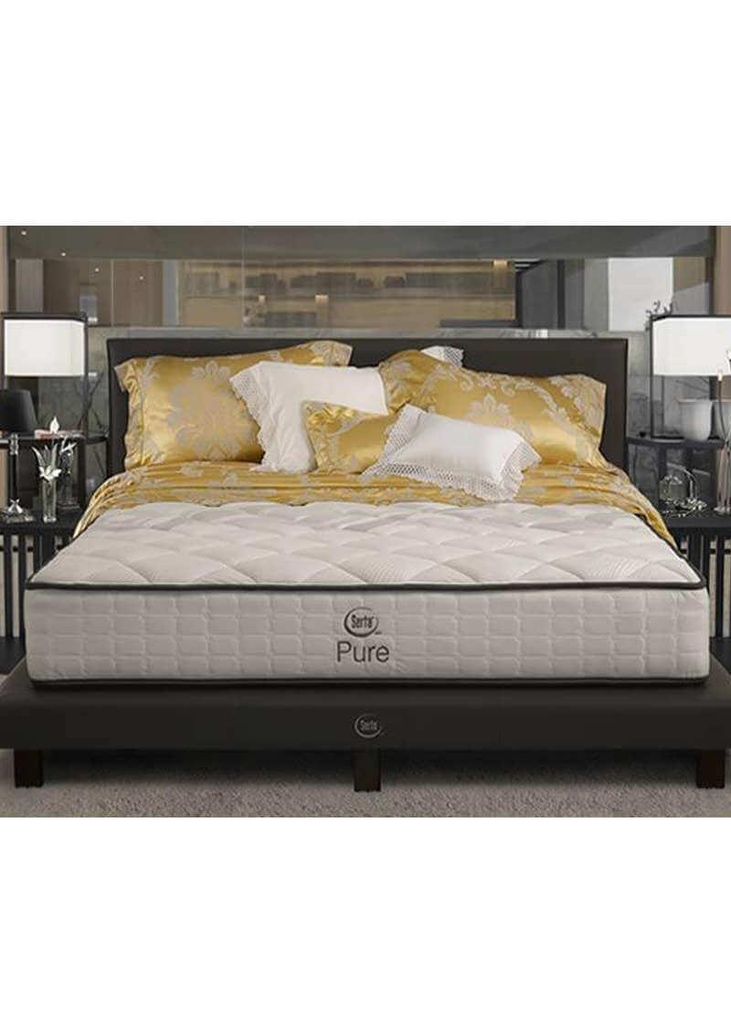 Springbed Serta Pure Subur Furniture Online Store Plaza Savello Luxio Mt0 Kursi Kantor Jabodetabek