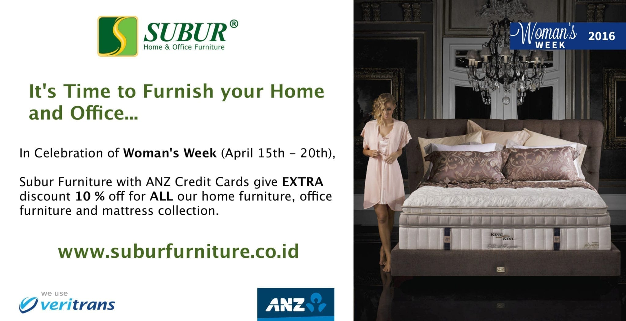 Promo ANZ woman's week