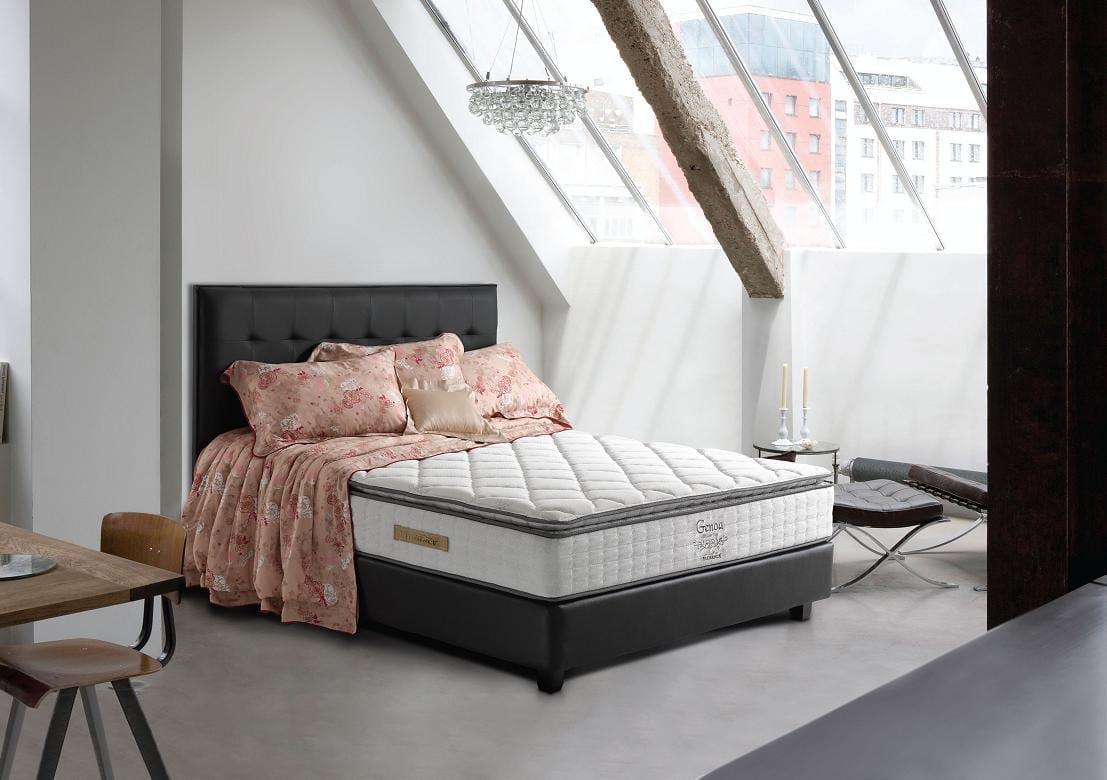 Spring Bed Florence Reggina 180x200 Kasur Tanpa Divan Sandaran Uniland Paradise Plushtop Dakota 100x200 Jadebotabek Only Springbed Genoa Sale