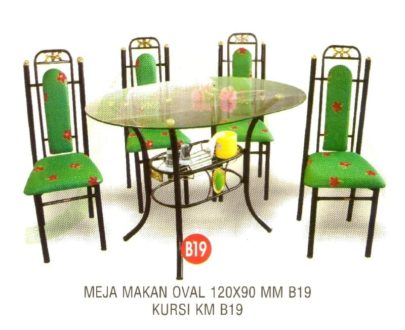 Meja Makan Polaris MM B19