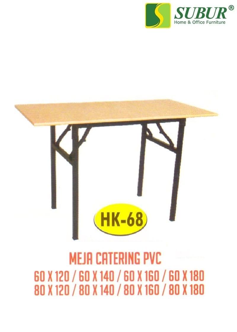 Meja Catering Pvc Polaris Hk 68 Subur Furniture Online Store Plaza Savello Luxio Mt0 Kursi Kantor Jabodetabek