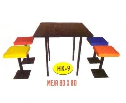 Meja Makan HPL Polaris HK 9
