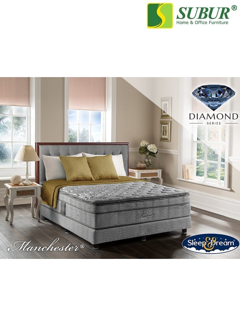 Springbed Sleep Dream Type Manchester Subur Furniture Online Store Plaza Savello Luxio Mt0 Kursi Kantor Jabodetabek