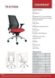 Chairman Kursi Direktur type TS 01703 A