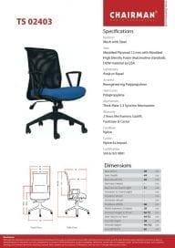 Chairman Kursi Manager type TS 02403