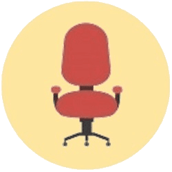 Kursi Staff / Sekertaris