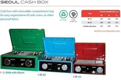 Cash Box Ichiban Seoul